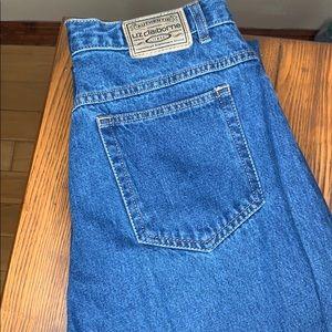 Liz Claiborne Mom Jeans Wedgie Fit 12 short